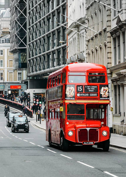 Photograph - Red London Bus by Alexandre Rotenberg
