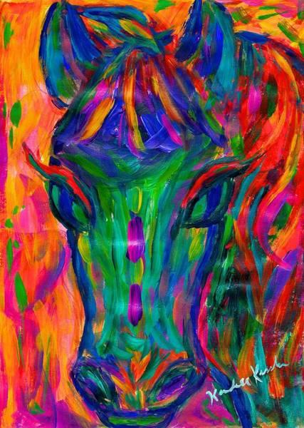 Painting - Red Mane by Kendall Kessler