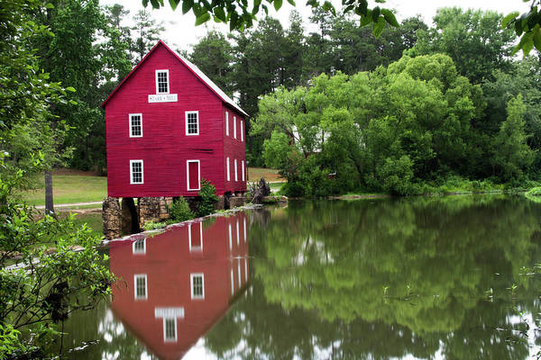 Photograph - Red Mill by Kenny Thomas