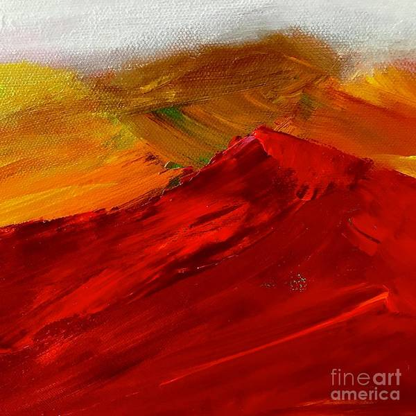 Painting - Red Mountain by Kim Nelson