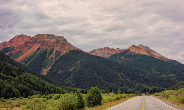 Photograph - Red Mountain Pass Colorado by Loree Johnson