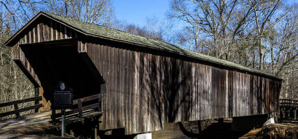 Photograph - Red Oak Creek Covered Bridge by Randy Bayne