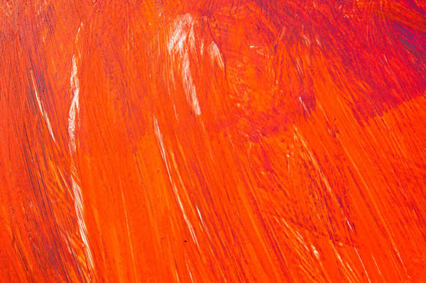 Wall Art - Photograph - Red Paint by Tom Gowanlock