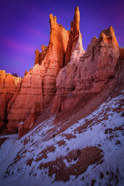 Rock Formation Photograph - Red Peaks by Edgars Erglis