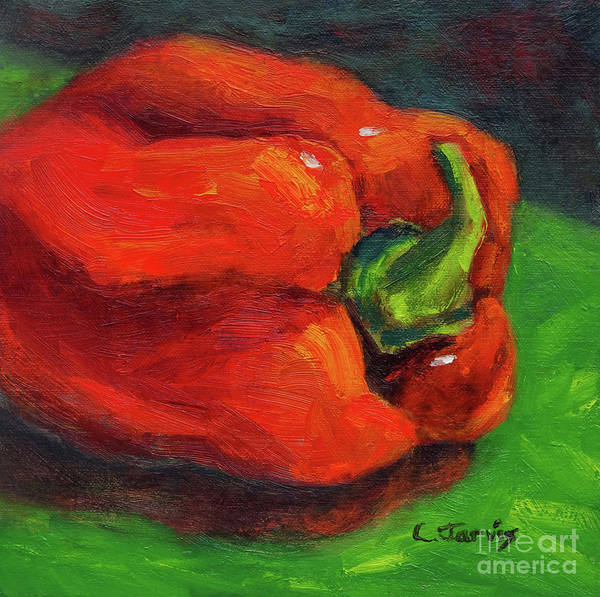 Red Pepper Still Life Art Print