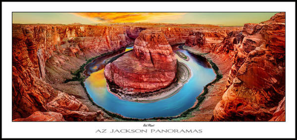 Wall Art - Photograph - Red Planet Panorama Poster Print by Az Jackson