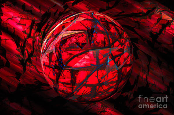 Photograph - Red Planet Rising by Michael Arend