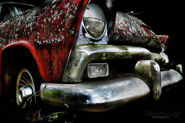 Photograph - Red Plymouth Belvedere by Glenda Wright