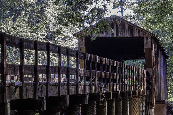 Photograph - Red Oak Creek Bridge by Randy Bayne