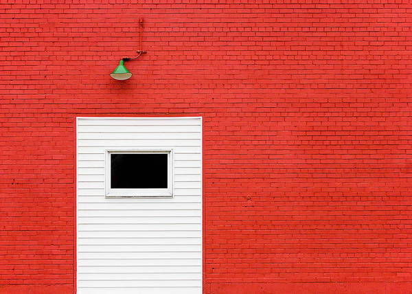 Wall Art - Photograph - Red, Red Wall by Todd Klassy