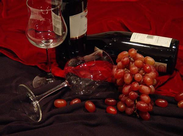Photograph - Red Red Wine by Ree Reid