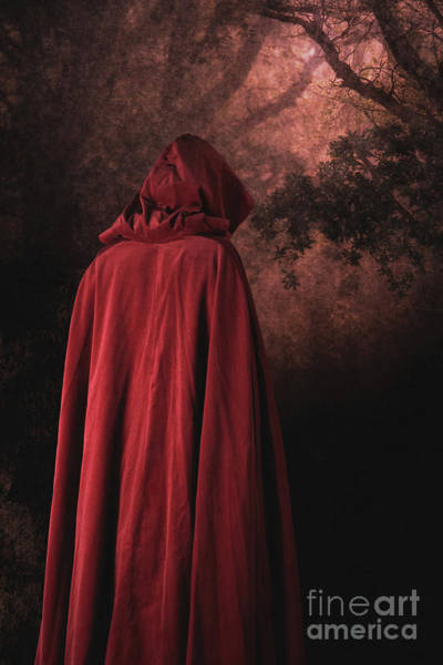 Photograph - Red Riding Hood by Clayton Bastiani