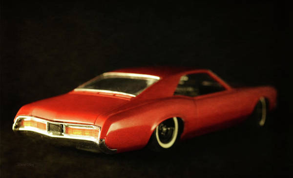 Photograph - Red Riviera Rear by David King