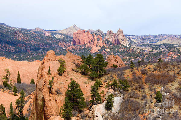 Photograph - Red Rock And Garden Of The Gods by Steve Krull