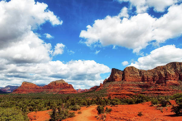 Wall Art - Photograph - Red Rock Buttes In Sedona, Arizona, Usa by Susan Schmitz