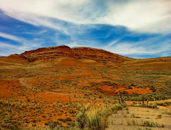 Photograph - Red Rock Buttes Of Wyoming  by Ginger Wakem