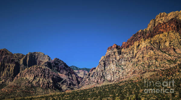 Photograph - Red Rock Canyon #16 by Blake Webster