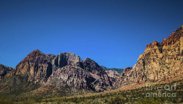 Photograph - Red Rock Canyon #17 by Blake Webster