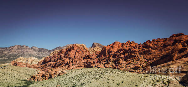 Photograph - Red Rock Canyon #3 by Blake Webster