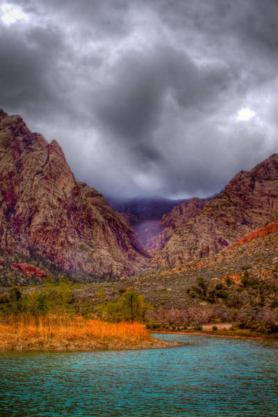 Photograph - Red Rock Canyon by David Patterson