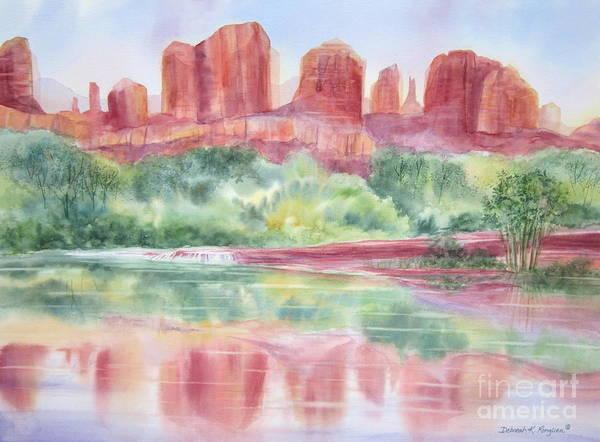 Oak Creek Canyon Painting - Red Rock Canyon by Deborah Ronglien