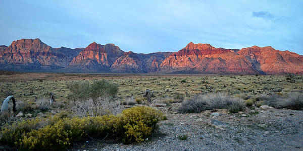 Photograph - Red Rock Morning Panoramic by Glenn McCarthy Art and Photography