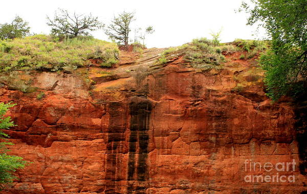 Wall Art - Photograph - Red Rock Canyon Oklahoma by Eric Irion