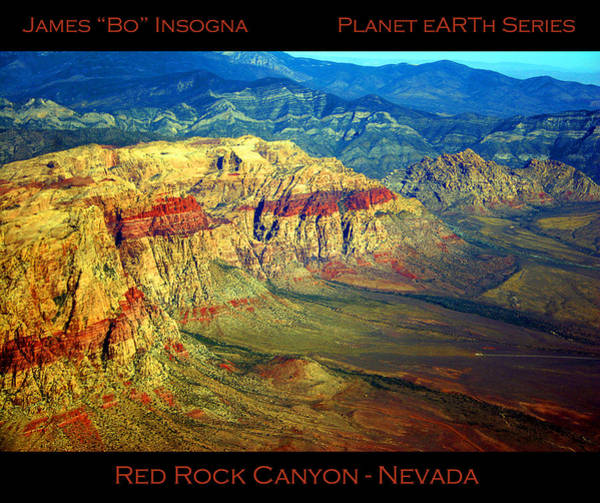 Photograph - Red Rock Canyon Poster Print by James BO Insogna