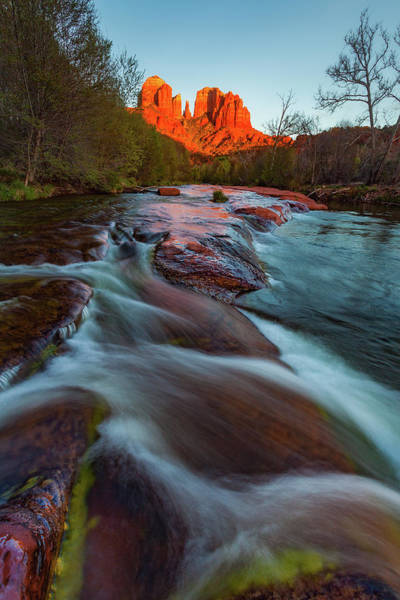 Photograph - Red Rock Creek by Darren White