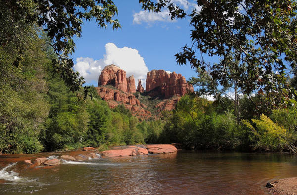 Wall Art - Photograph - Red Rock Crossing by Gordon Beck