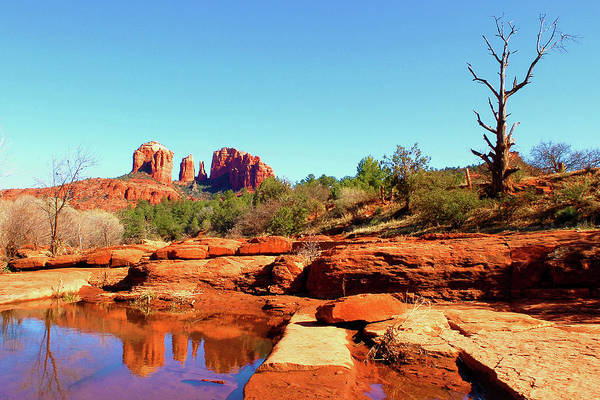 Red Rock Crossing Art Print