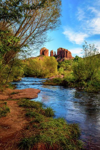 Wall Art - Photograph - Red Rock Crossing - Sedona Arizona by Jon Berghoff
