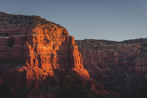 Photograph - Red Rock Formations At Sunrise by Andy Konieczny