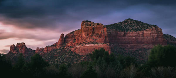 Photograph - Red Rock Formations Long Exposure by Andy Konieczny