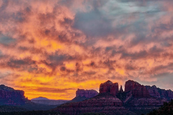 Photograph - Red Rock In The Morning by Jon Glaser