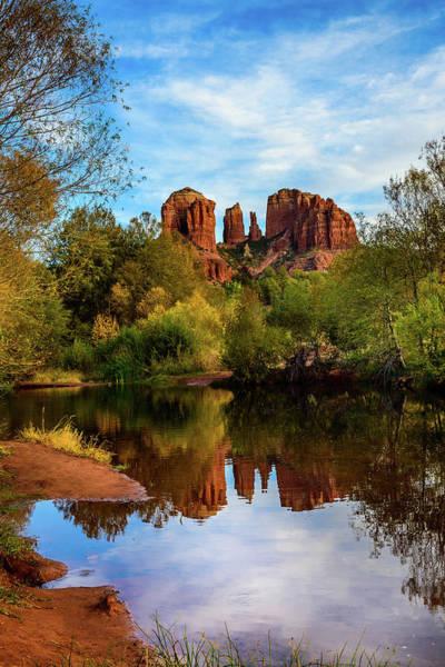 Wall Art - Photograph - Red Rock Reflections - Sedona Arizona by Jon Berghoff
