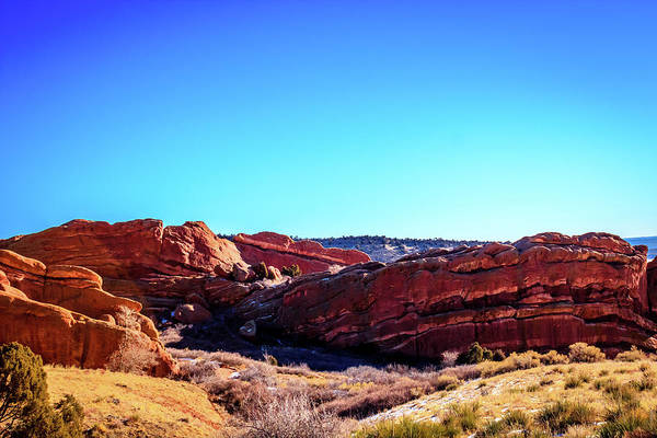 Photograph - Red Rocks Geology by Barry Jones