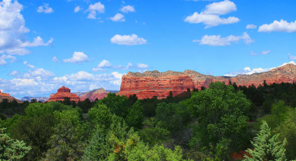 Photograph - Red Rocks In Sedona by Ola Allen