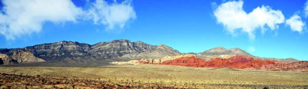 Photograph - Red Rocks Nevada Panorama by Frank Wilson