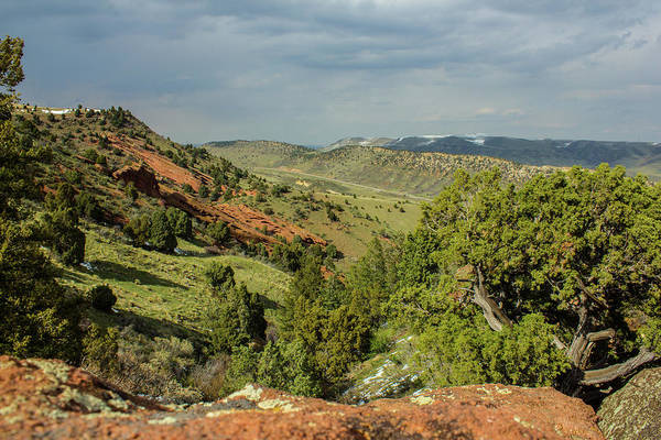 Photograph - Red Rocks Overview by Tyson Kinnison