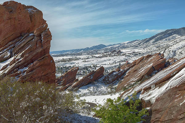 Photograph - Red Rocks by Susan Rissi Tregoning