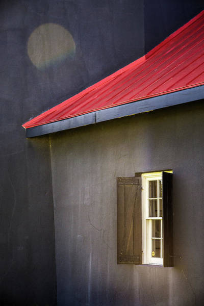 Don Johnson Photograph - Red Roof by Don Johnson