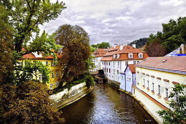 Houses Wall Art - Photograph - Red Roofs Of Prague - 2015 by Madeline Ellis