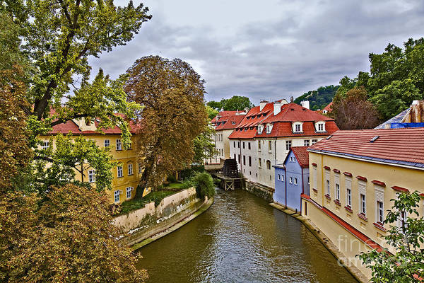 Wall Art - Photograph - Red Roofs Of Prague by Madeline Ellis