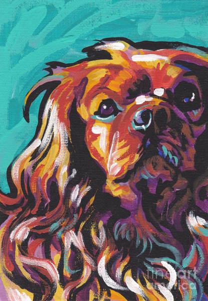 Spaniels Painting - Red Ruby by Lea S