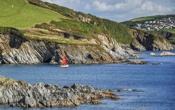 Wall Art - Photograph - Red Sail by Andrew Wilson