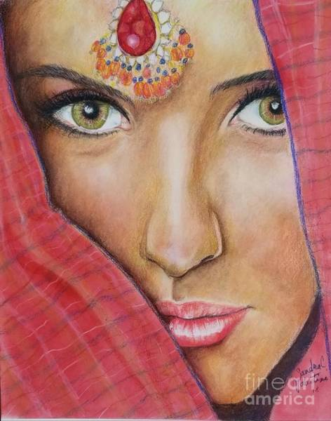Wall Art - Drawing - Red by Sandra Valentini