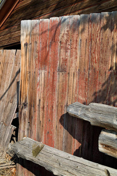 Wall Art - Photograph - Red Shed Door by Kathleen Bishop
