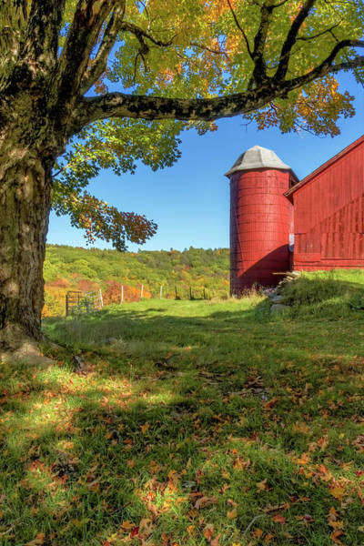 Photograph - Red Silo by Tom Singleton