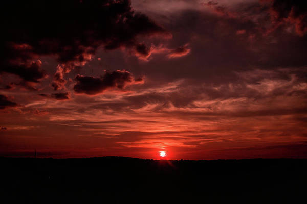 Photograph - Red Skies by Mike Dunn